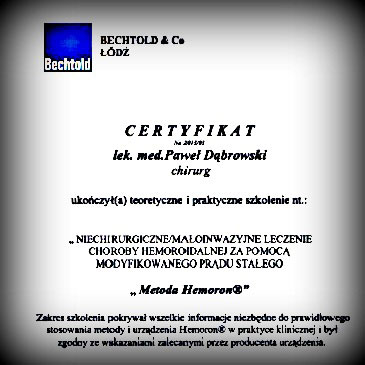Certyfikaty i dyplomy