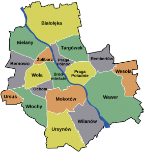 Gabinet chirurgiczny, Warszawa i okolice