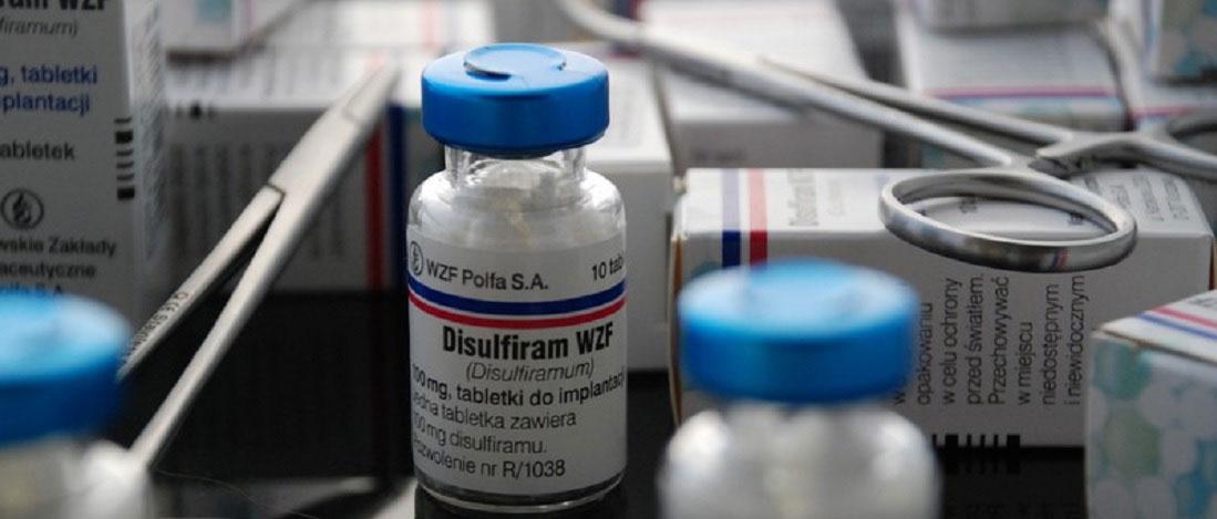 Urobene - stosujemy orginalny disulfiram